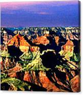 Painting The Grand Canyon National Park Canvas Print