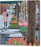 Painting The New York Street Canvas Print