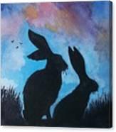 Pair Of Jacks Canvas Print
