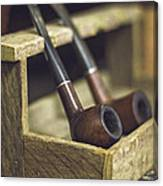 Pair Of Pipes Canvas Print