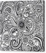 Paisley Canvas Print