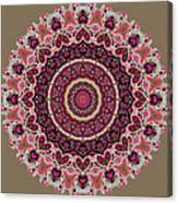 Paisley Hearts Canvas Print