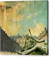 Palace And Park Of Versailles Unesco World Heritage Site Canvas Print