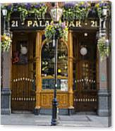 Palace Bar - Dublin Ireland Canvas Print