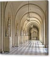 Palace Corridor Canvas Print