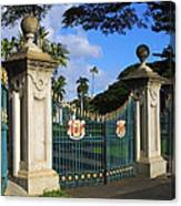 Palace Gates Canvas Print