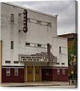 Palace Movie Theater Canvas Print