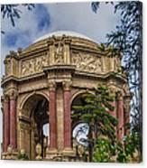 Palace Of Fine Arts - San Francisco California Canvas Print