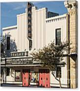 Palace Theater --- Georgetown Texas  Canvas Print