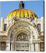 Palacio De Bellas Artes Canvas Print