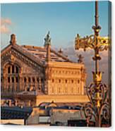 Palais Garnier Canvas Print