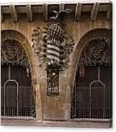 Palau Guell 1886 To 88 Gaudi Barcelona Spain Dsc01413 Canvas Print