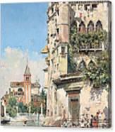 Palazzo Contarini Canvas Print