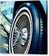 Pale Blue Rider Canvas Print