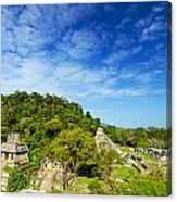 Palenque View Canvas Print