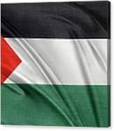 Palestine Flag Canvas Print