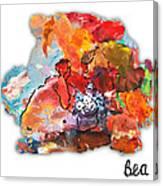 Palette Impressions 2 Canvas Print