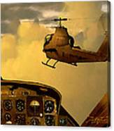Palette Of The Aviator Canvas Print