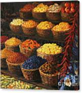 Palette Of The Orient Canvas Print