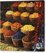 Palette Of The Orient Canvas Print