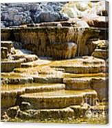 Palette Spring 2 Yellowstone National Park Wy Canvas Print