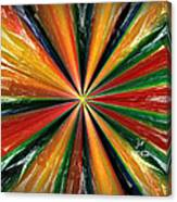 Palette Wheel Canvas Print