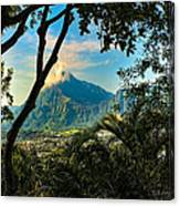 Pali Lookout For Puu Alii Canvas Print