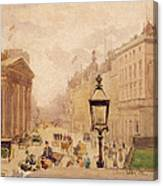Pall Mall From The National Gallery Canvas Print