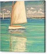 Palm Bay Canvas Print