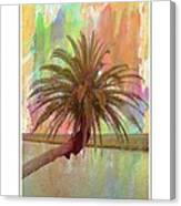 Palm On The Loop Canvas Print