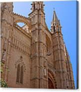 Palma Cathedral 5 Canvas Print