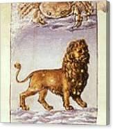 Palmieri, Matteo 1406-1475. Italian Canvas Print