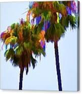 Palms 8 Canvas Print