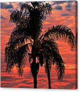 Palmtree Apocalypse Canvas Print