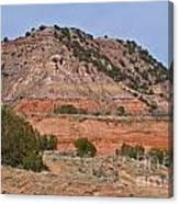 Palo Duro Canyon 040713.02 Canvas Print