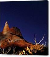 Palo Duro Canyon 2am-114844 Canvas Print