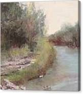 Paluxy River Afternoon Canvas Print