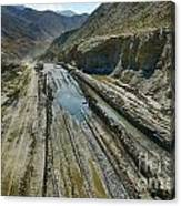 Pamir Alay Road Canvas Print