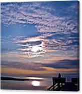 Pamlico Sound Sunset Canvas Print