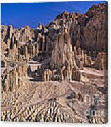 Panaca Formations In Cathedral Gorge State Park Nevada Canvas Print