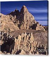 Panaca Sandstone Formations Cathedral Gorge State Park Nevada Canvas Print