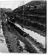 Panama Canal, 1908 Canvas Print