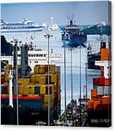 Panama Canal Express Canvas Print