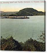 Panama Canal La Boca Canvas Print