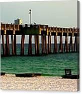 Panama City Beach Pier 2  Canvas Print
