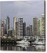 Panama City Skyline Panama Canvas Print