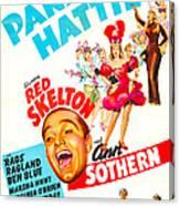 Panama Hattie, Us Poster, Center Canvas Print