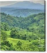 Panama Landscape Canvas Print