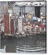 The River, Panana Canvas Print