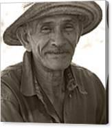 Panamanian Country Man Canvas Print